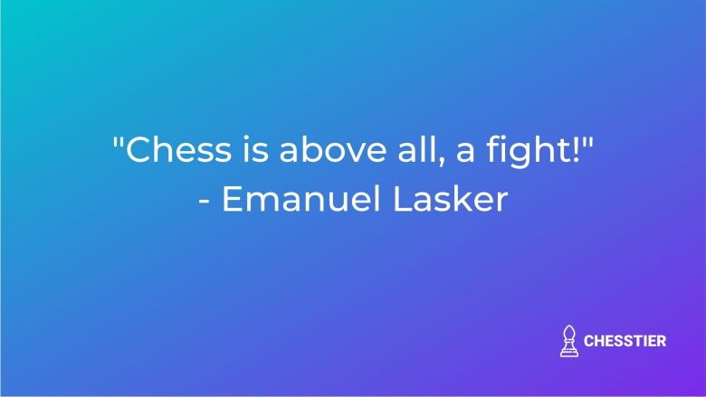 chess quote emanuel lasker