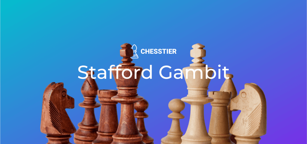 stafford gambit chess cover