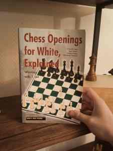 chess opeings for white, explained book