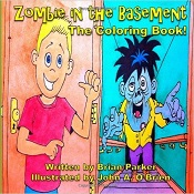 Zombie in the basement cover