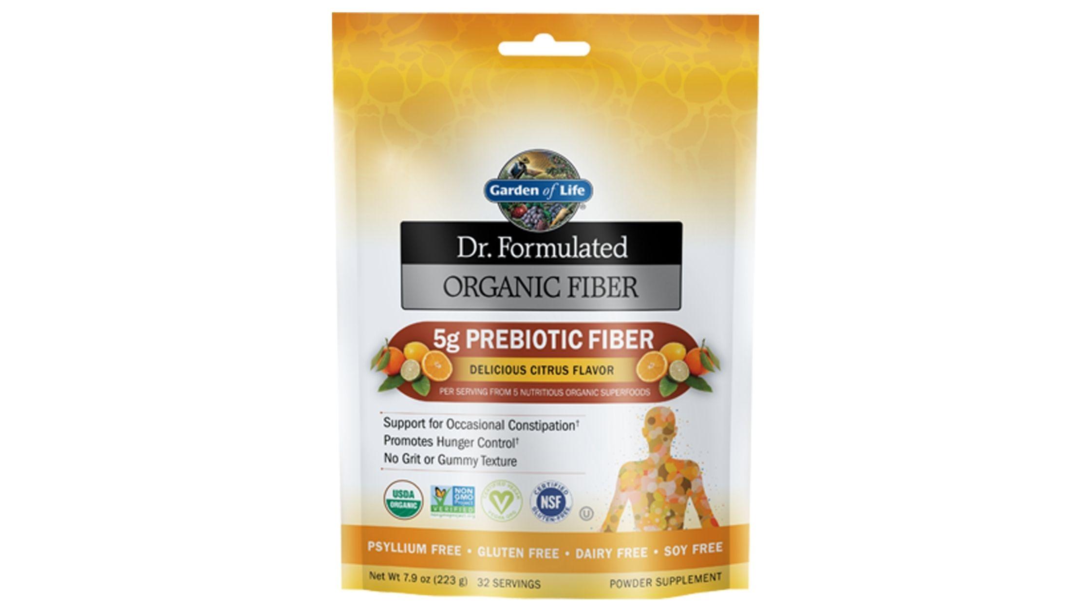 Garden of Life Dr. Formulated Organic Fiber