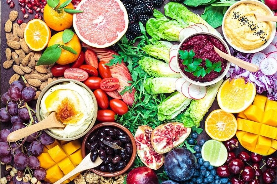 Consume more fruits and vegetables