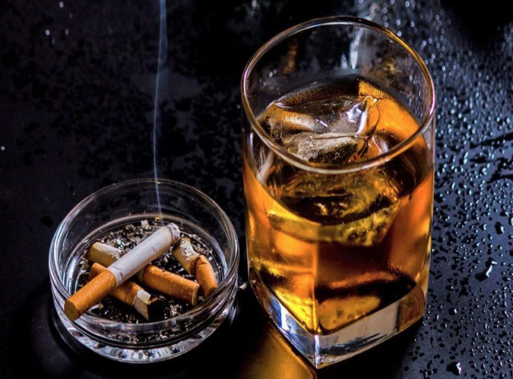 Smoking and alcohol consumption