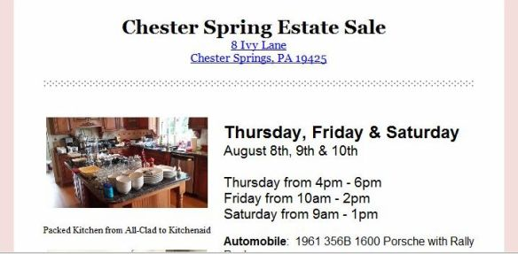 chester springs sale notice1