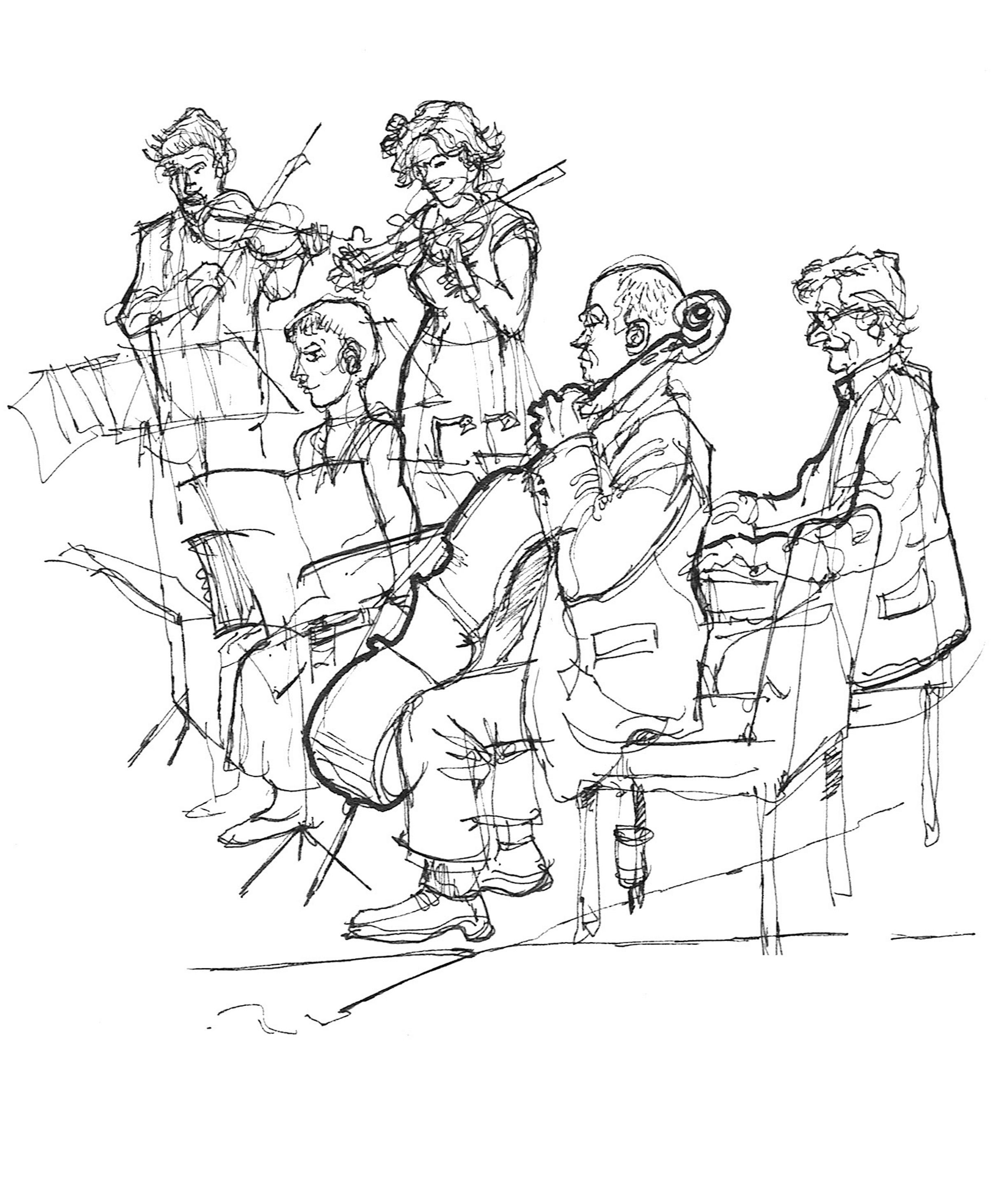 Dai's Reportage : Drawing bands & varied musicians