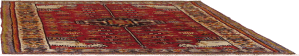 Persian hand-knit rug