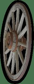 Stage Coach Wheel