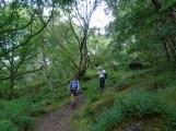 Descending from Froggatt Edge