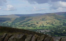 Lose Hill and Mam Tor from Offerton Moor