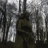 Westwood carving - a bit eerie in the gloom