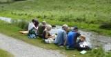 Lunch stop in Bradford Dale