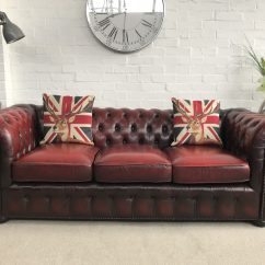 Oxblood Red Chesterfield Sofa Leather Sectional Austin Tx Chesterfields At The Boathouse  Vintage Sofas