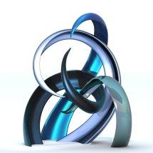 """horny"" modern sculpture - contemporary"