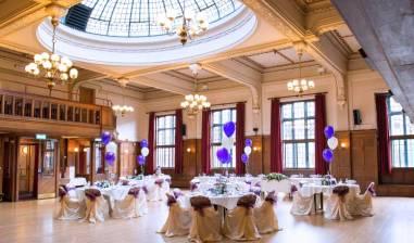 Winding Wheel Ballroom Wedding Reception
