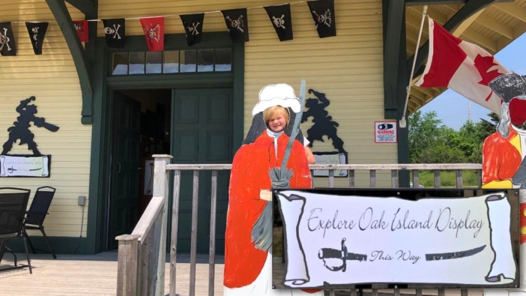 Explore Oak Island Display Chester Nova Scotia