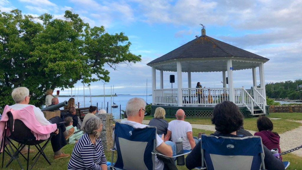 Summer Concert Series at the Bandstand in Chester Nova Scotia