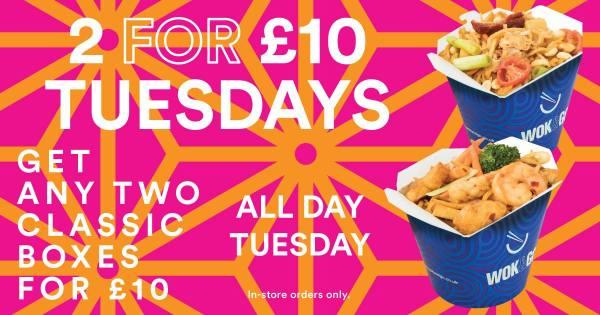 Wok and Go Tuesdays
