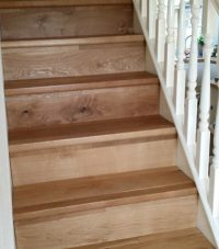 Wood Flooring for Stairs | Specialist Installations by ...