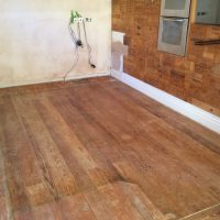 Sanding of a pitch pine floor - Chester Wood Flooring ...