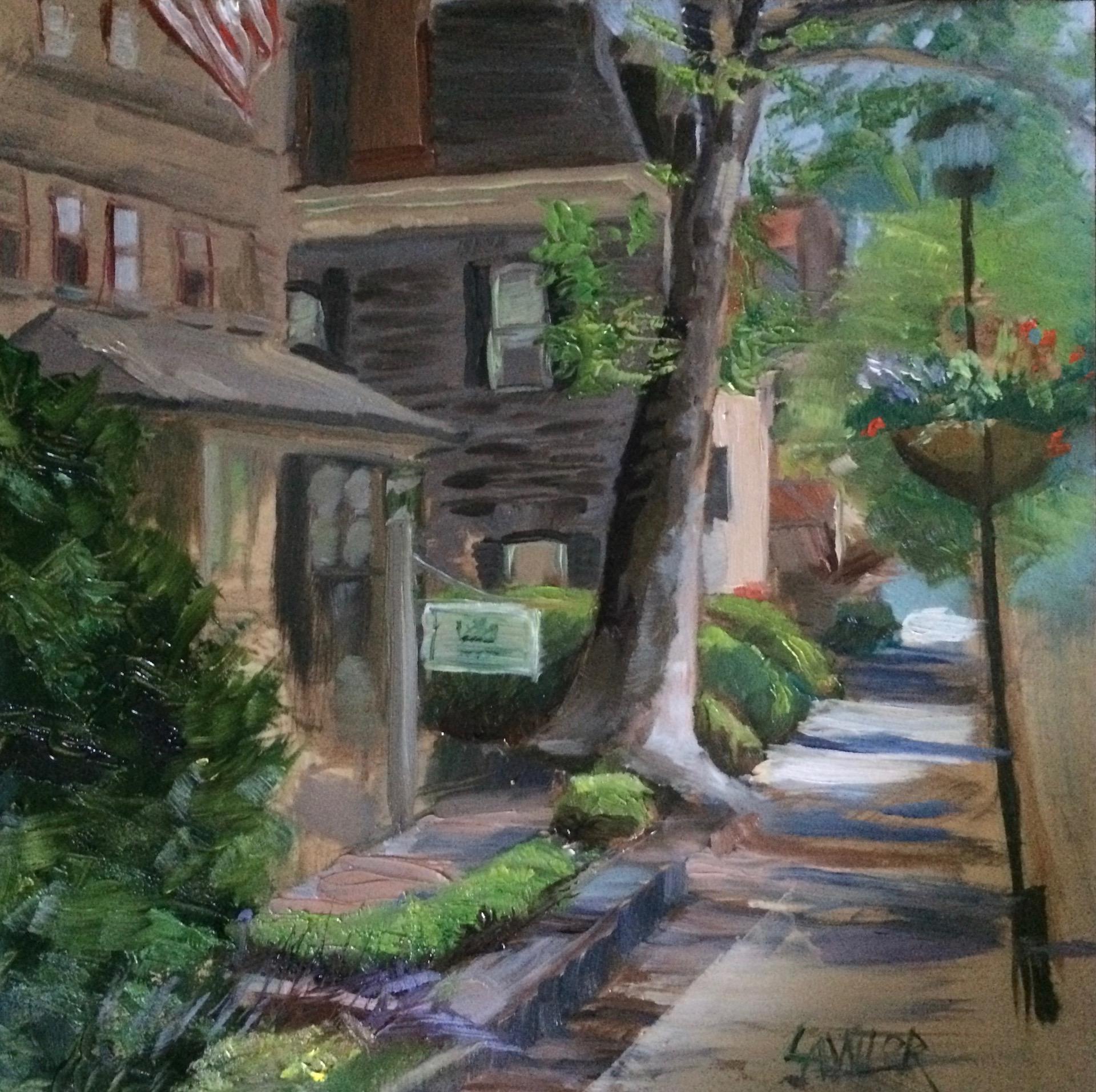 Plein Air Artists 2017  Chestnut Hill