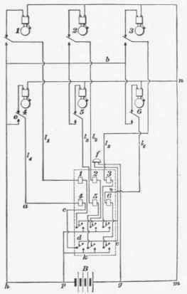 96. Wiring For Return-Call Annunciator