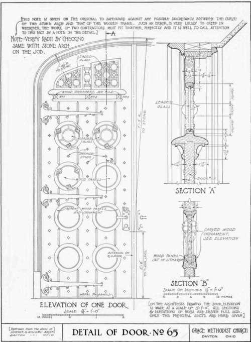 Article VI. Detail Drawings