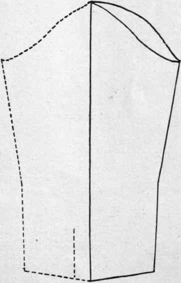 Pattern Making Shirtwaist As Fundamental Pattern. Part 2