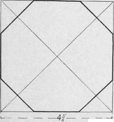 No. 10. Octagonal Card