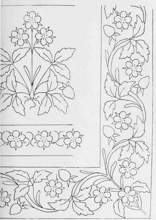 BORDER DESIGNS FOR EMBROIDERY « EMBROIDERY & ORIGAMI