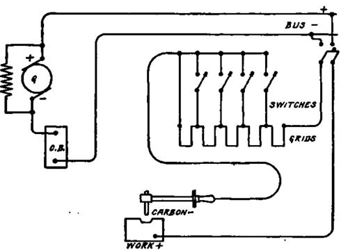 lincoln arc welder wiring diagram fetal pig muscle labeled 15 17 sg dbd de electric welding equipment part 2 rh chestofbooks com oxford