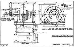 Final Assembly Drawing. Plate R. Outline. General Details