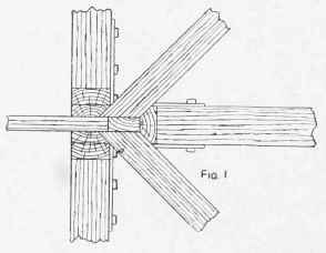 Hipped End Of A King-Post Truss
