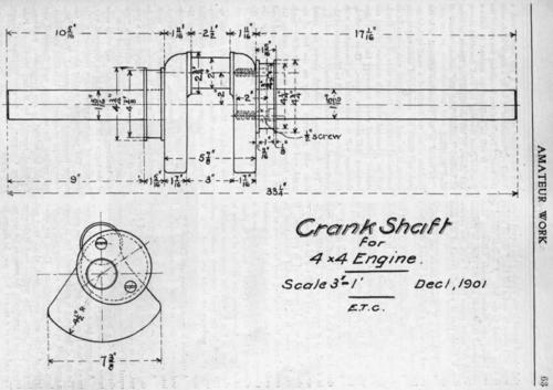 Mechanical Drawing. III. Working Drawings