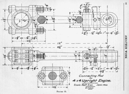 Mechanical Drawing. IV. Objects In Section