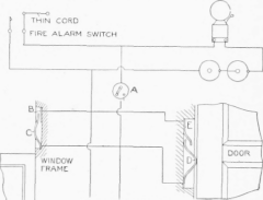 dsc pc1550 wiring diagram evolution chart man fire alarm bell 30 images connections and showing an open circuit burglar