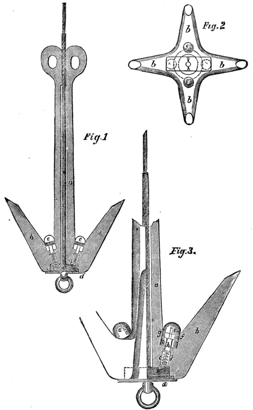 Electrical Grapnel For Submarine Cables And Torpedo Lines