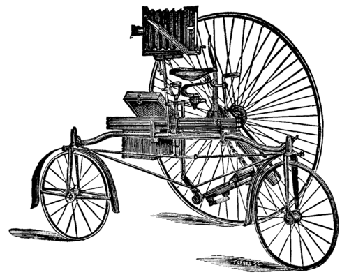 Photo-Tricycle Apparatus