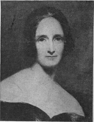 black and white portrait of mary wollstonecraft