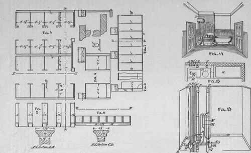 toilet vent plumbing diagram 1998 nissan maxima engine part ii. - gentlemen's toilet-room, plan, elevation, section and of urinals closets ...