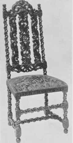 Walnut Chairs From 1660 To 1700. Part 3