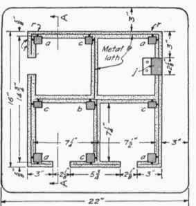 Plans For Four-Room Stucco Birdhouse For Martins
