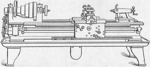 Woodworking Lathe Diagram