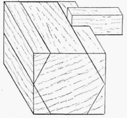 Model V. Planing In The Direction Of The Grain To A