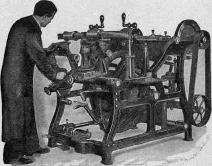 Goodyear Automatic Sole Leveling Machine