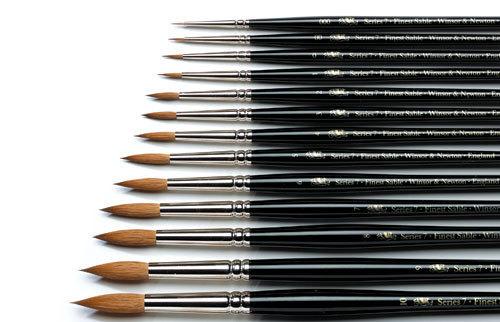 Winsor /& Newton Series 7 Watercolor Brush Kolinsky Standard 3