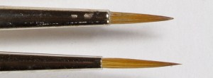 Brushes review: Winsor & Newton series 7 vs Rosemary & Co. (5)