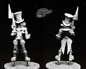 Malifaux: Seamus the Mad Hatter - tutorial (1)