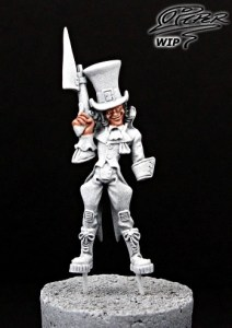 Malifaux: Seamus the Mad Hatter - tutorial (2)