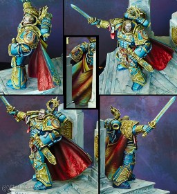 Roboute Guilliman, primarch of Ultramarines (details)