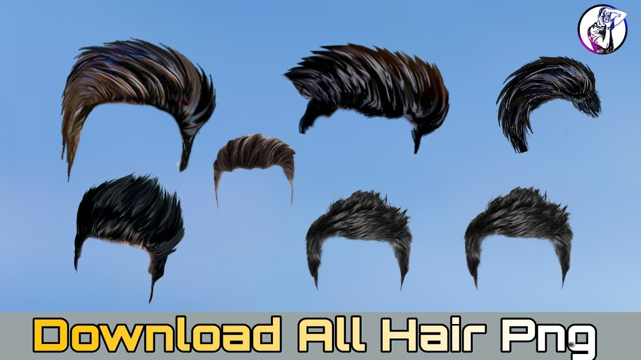 Best Hair Png For Photo Editing Awesome Hair Png